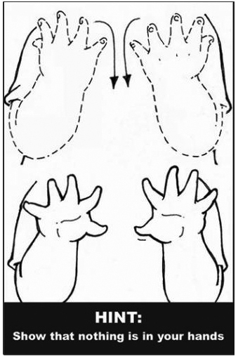 ASL sign for done