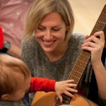 Rainbow Songs music class is a great baby activity in Toronto