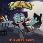 Vampire, haunted house, halloween